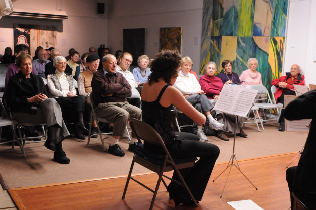 Classical Concert at the Puffin Cultural Forum.
