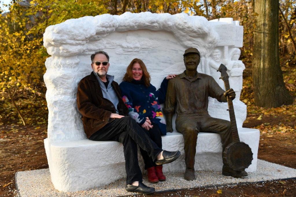 Pete Seeger Statue 2